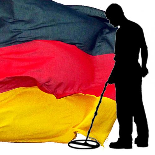 גלאי מתכות גרמני